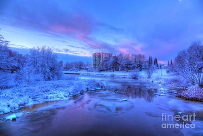 Royalty-Free and Rights-Managed Images - The first snow by Veikko Suikkanen