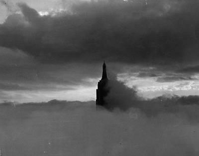Photograph - The Foggy Big Apple by Keystone