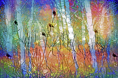 Digital Art - The Forest Leans In To Listen To All The Things We Can Not Say by Tara Turner