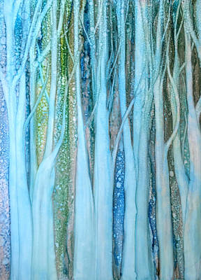 Painting - The Forest Through The Trees by Betsy Carlson Cross
