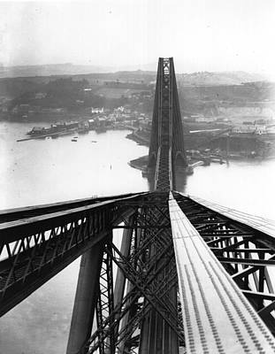Photograph - The Forth Bridge by Hulton Archive