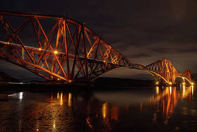 Photograph - The Forth Bridge by Ross G Strachan