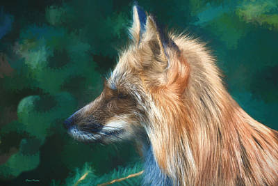 Painting - The Fox 235 - Painting by Ericamaxine Price