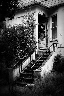 Photograph - The Gargoyle At House 666 by Mary Lee Dereske