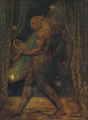 Painting - The Ghost Of A Flea William Blake by Celestial Images