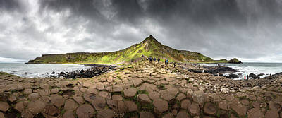 Photograph - The Giants Causeway by Chris Cousins