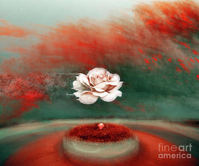 Mixed Media Royalty Free Images - The Gift Royalty-Free Image by Jacky Gerritsen
