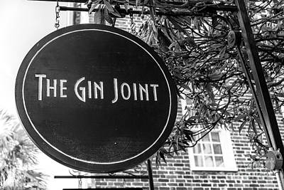 Photograph - The Gin Joint Charleston by John Rizzuto