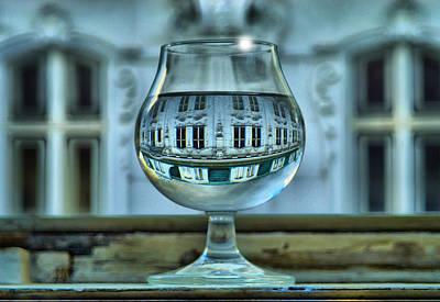 Jonny Jelinek Royalty-Free and Rights-Managed Images - The Glass - Living Upside Down by Jonny Jelinek