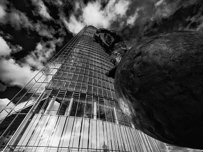 Photograph - The Globetrotter 2 by Jorg Becker