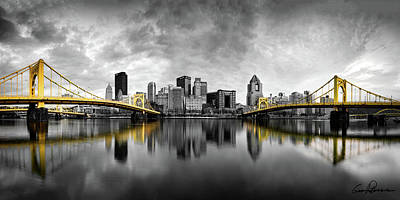 Photograph - The Golden Bridges  by Emmanuel Panagiotakis