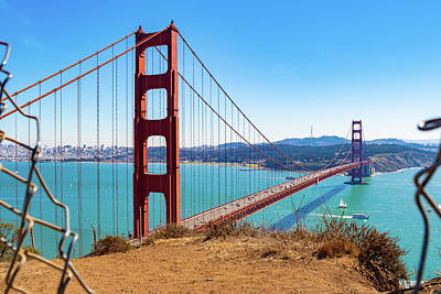 Photograph - The Golden Gate Bridge I I by Debbie Ann Powell