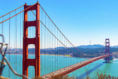 Photograph - The Golden Gate Bridge I I I by Debbie Ann Powell