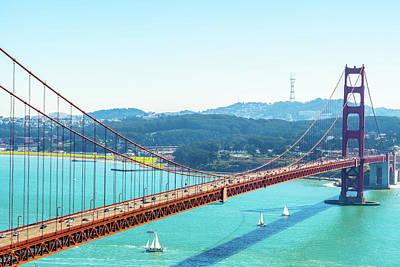 Photograph - The Golden Gate Bridge I by Debbie Ann Powell