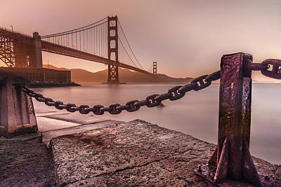 Art Print featuring the photograph The Golden Gate by Francisco Gomez
