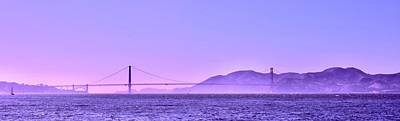 Photograph - The Golden Gate From Municipal Pier by Lynda Anne Williams