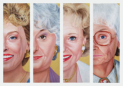 Painting - The Golden Girls by Vic Ritchey