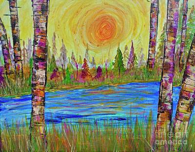 Painting - The Golden Hour by Jacqueline Athmann