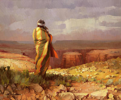 Catch Of The Day - The Good Shepherd by Steve Henderson