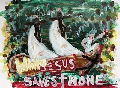 Painting - The Good Ship Jesus by Yhoshua Adama