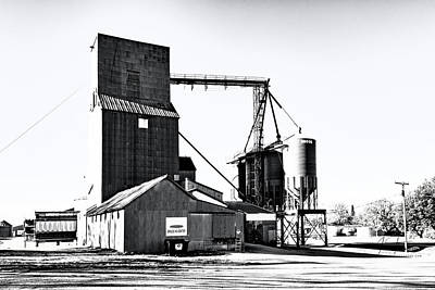 Photograph - The Grain Elevator by Jim Thompson