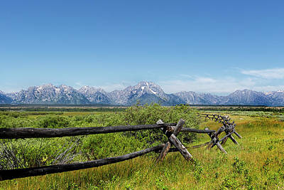 Photograph - The Grand Tetons Of Wyoming  by Kay Brewer