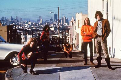 Photograph - The Grateful Dead by Hulton Archive