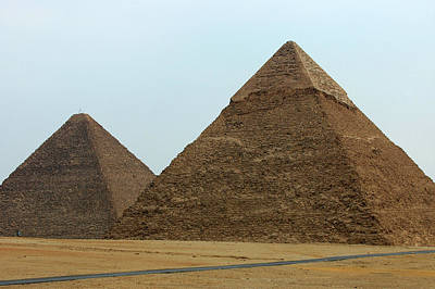 Photograph - The Great Pyramids by Mark Duehmig