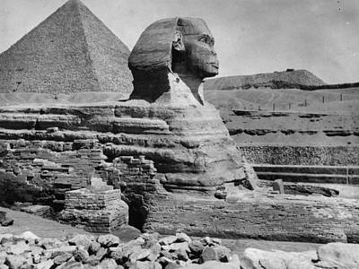 The Great Sphinx Art Print by Hulton Archive