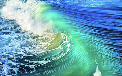 Photograph - The Great Wave by Laura Fasulo