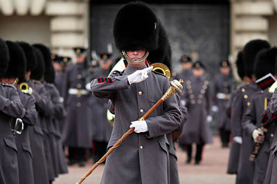 Photograph - The Grenadier Guards Take Part In Their by Dan Kitwood