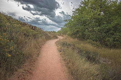 Photograph - The Gritty Path by Jennifer Grossnickle