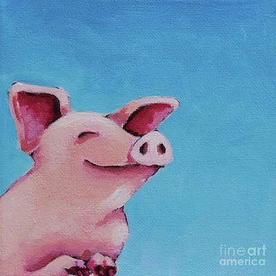 The Happiest Pig Original