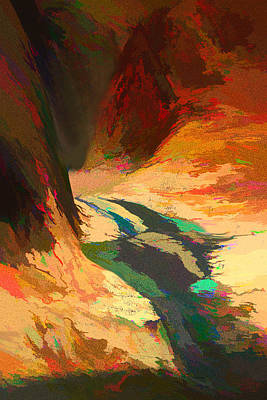 Digital Art - The Head Of The River 2 by Lisa Yount