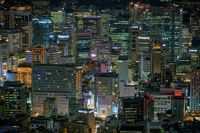 Photograph - The Heart Of Seoul by Rick Berk