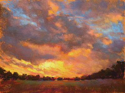 Painting - The Heavens Declare His Glory by Susan Jenkins