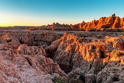 Photograph - The High And Low Of The Badlands by Jim Thompson