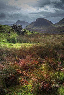 Photograph - The Highlands Of Quiraing by Debra and Dave Vanderlaan