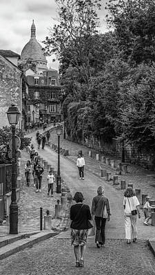 Photograph - The Hill To Monmatre by Matthew Pace