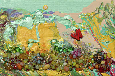Mixed Media - The Hills Sing by Donna Blackhall
