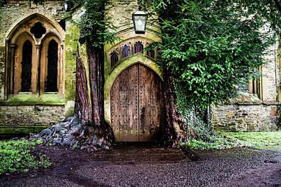 Photograph - The Hobbit Door by Steve Elliott