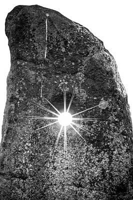 The Holestone At Doagh Art Print