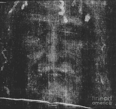 Photograph - The Holy Face by Almighty God