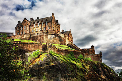 Photograph - The Holyrood Palace In Edinburgh Scotland by Debra and Dave Vanderlaan