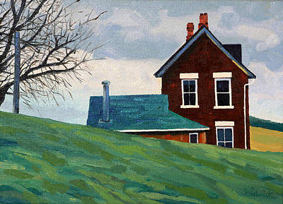 Painting - The Homestead by Phil Chadwick