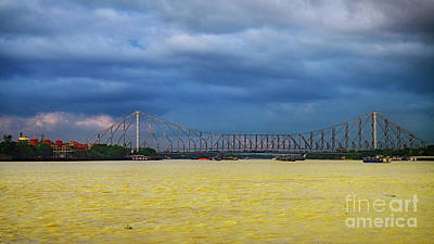 Photograph - The Howrah Bridge by Bipul Haldar