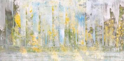 Painting - The Illusion 3 by Wonju Hulse