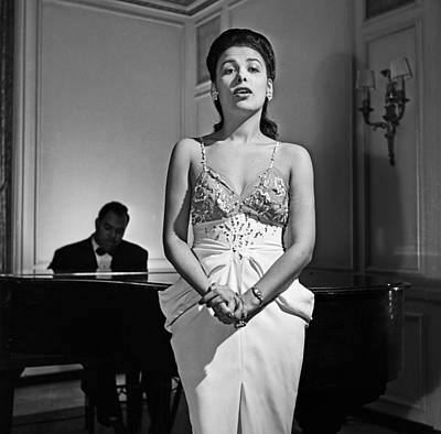 Photograph - The Incomparable Lena Horne by Michael Ochs Archives