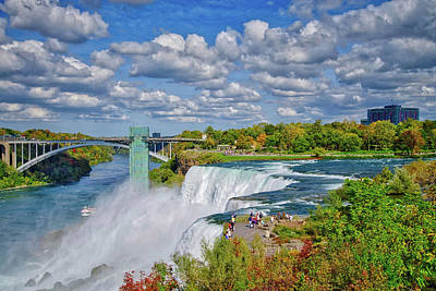 Photograph - The Incredible Beauty Of Niagara Falls by Lynn Bauer