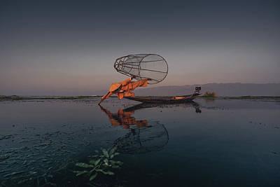 Photograph - The Inle Lake Acrobats by Atila Martins Lauar